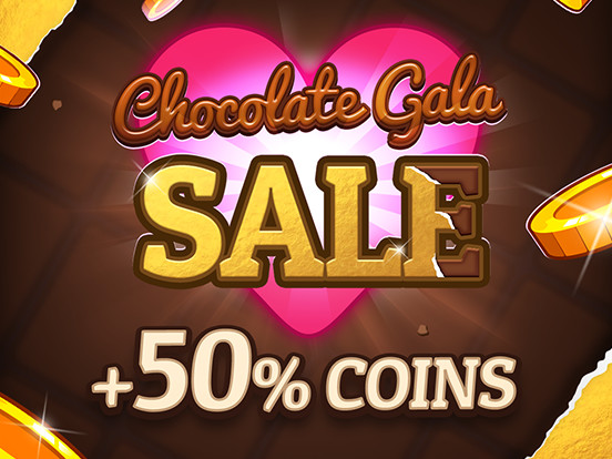 50% Extra Coins for a limited-time