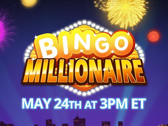 Celebrate Bingo Millionaire's Anniversary