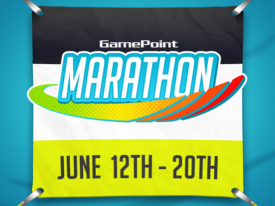 The GamePoint Marathon starts today