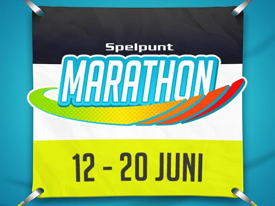 De Spelpunt Marathon begint vandaag