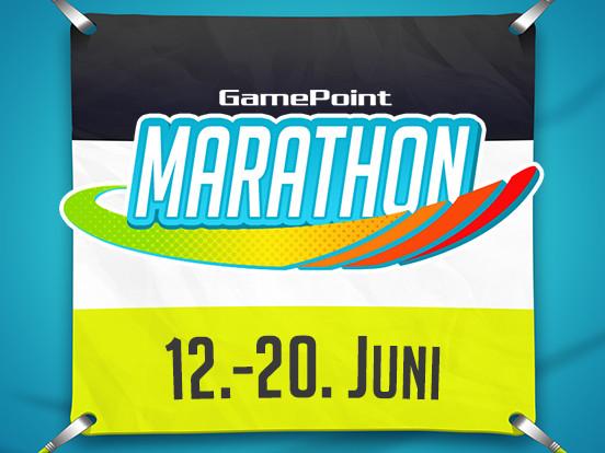 Der GamePoint Marathon beginnt heute