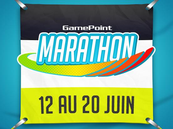 Le Marathon GamePoint commence aujourd'hui !