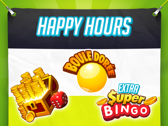 Les Happy Hours quotidiennes