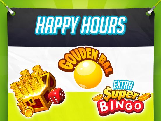 Dagelijkse Happy Hours