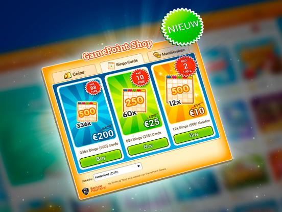 De beste prijs voor je Bingokaarten!