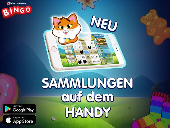 NEU: Bingo Sammlungen für Handy & Tablet!