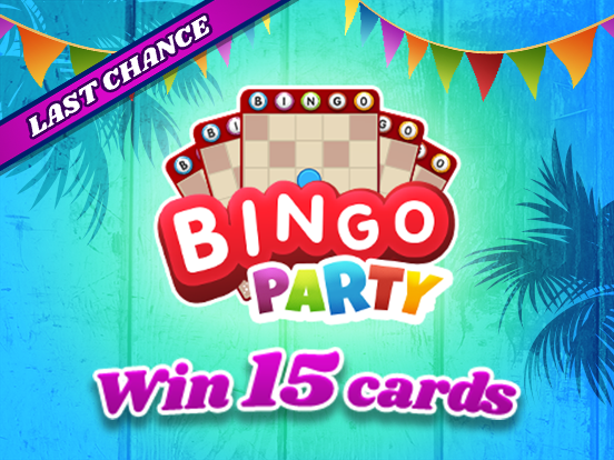 Last chance for FREE Bingo Party cards