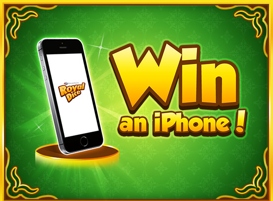 Win an iPhone in RoyalDice!