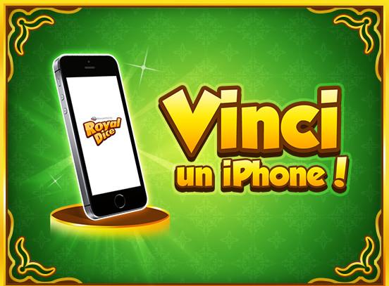 Vinci un iPhone in RoyalDice!
