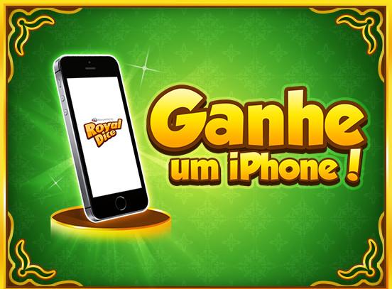 Chance de Ganhar um iPhone no RoyalDice!
