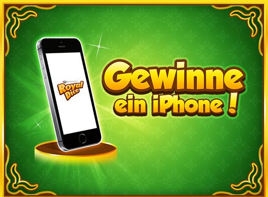 Win an iPhone in RoyalDice!
