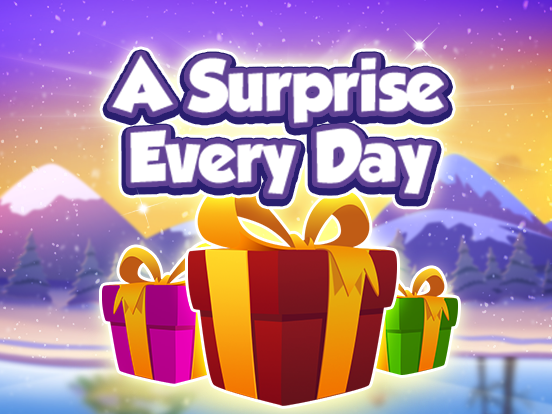 Winter Wonder Week countdown with a daily surprise!