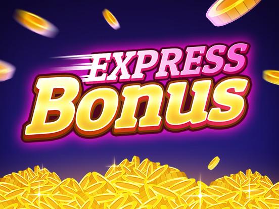 Express Bonus staat aan!