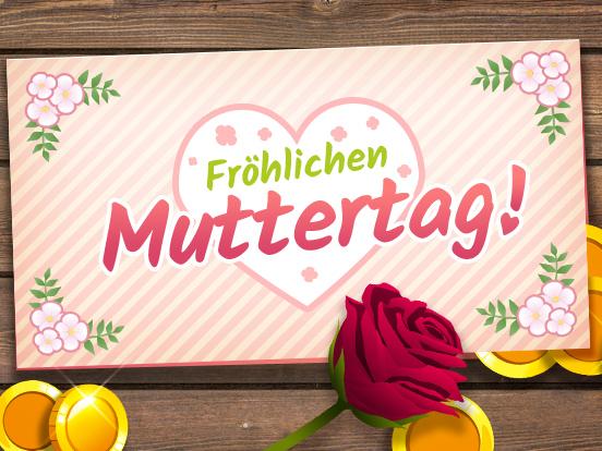 Fröhlichen Muttertag!