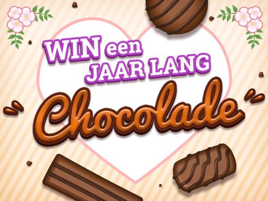 WIN een jaar lang chocola