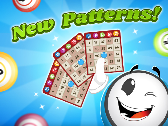 15 New Patterns for GamePoint Bingo!
