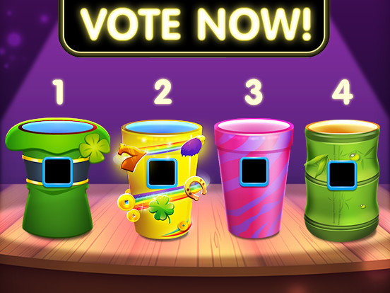 Vote to keep a cup in RoyalDice!