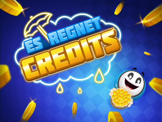 Tanzen im Credits-Regen