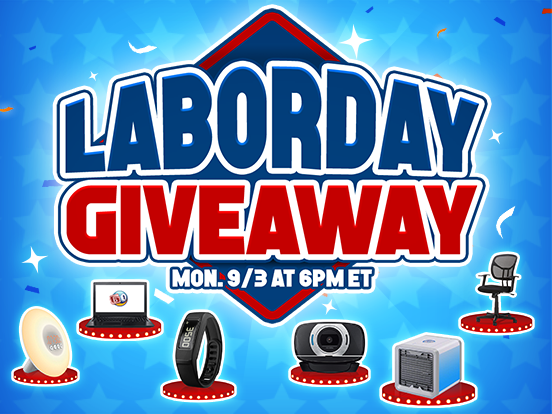 Time for a Labor Day Giveaway!