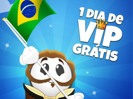 VIP na Independência do Brasil!
