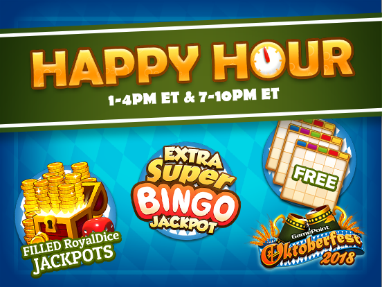 Last call for Happy Hour!