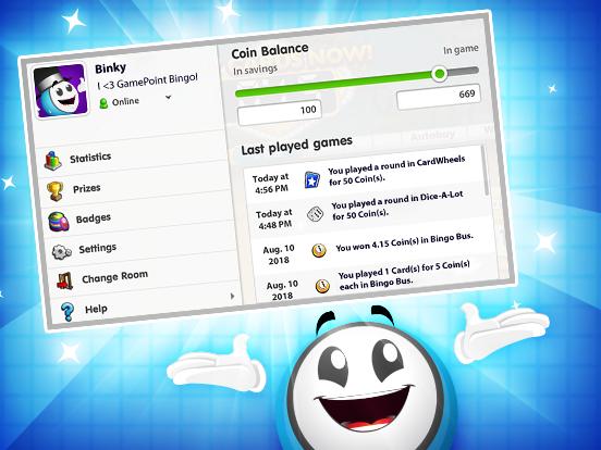 Neu & verbessert: GamePoint Guthabenübersicht!