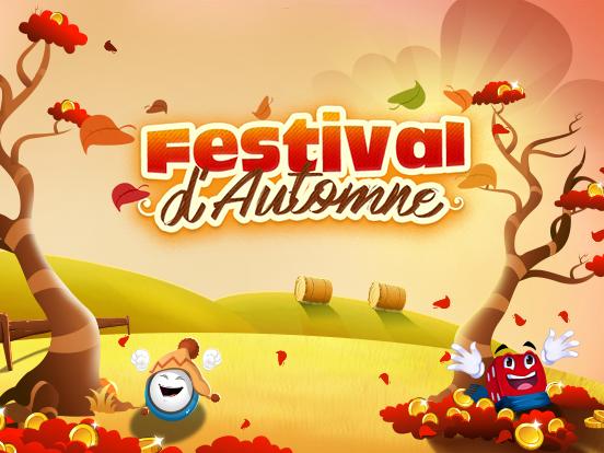 Le Festival d'Automne est arrivé sur GamePoint !