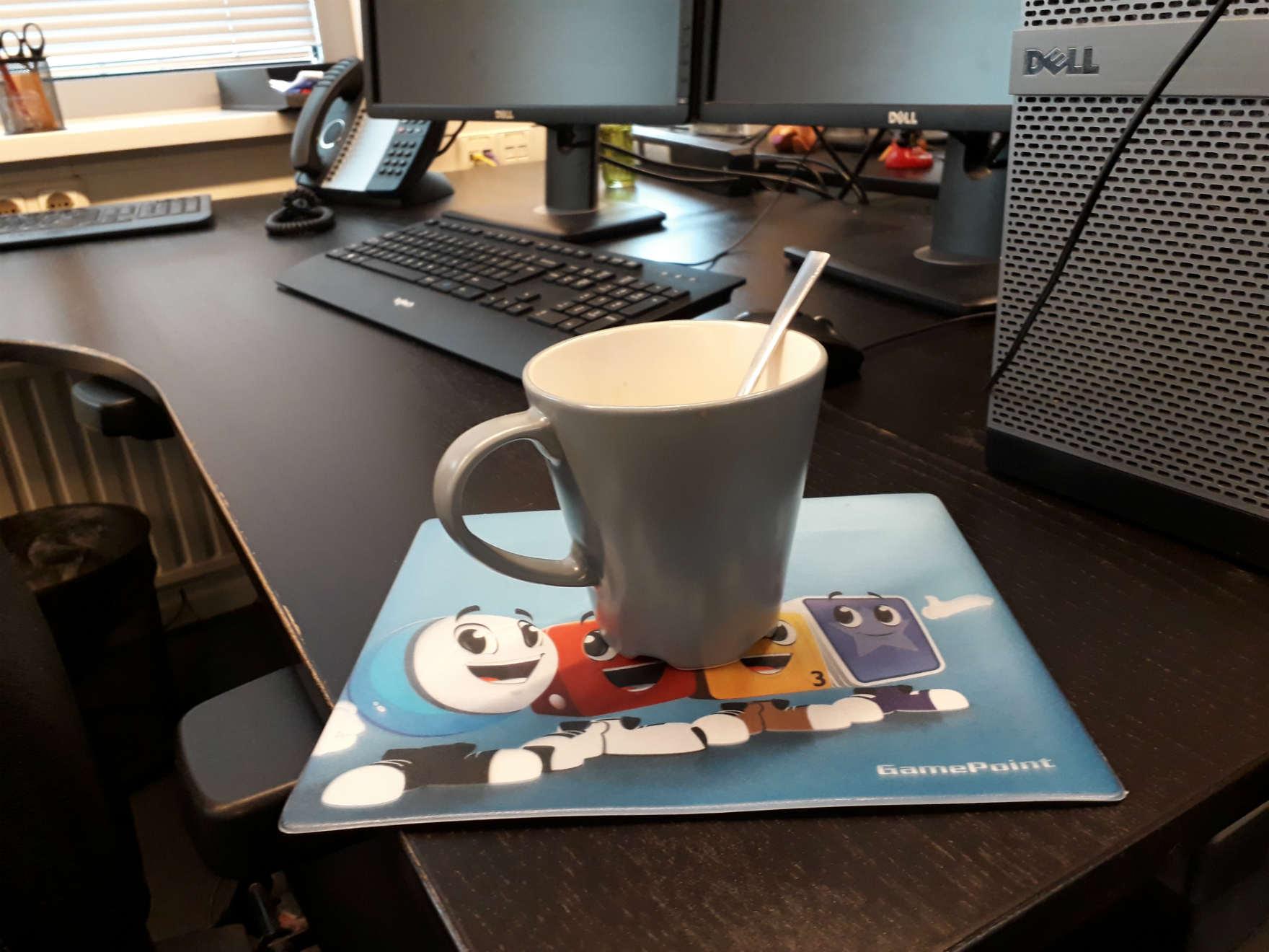 Koffie bij GamePoint