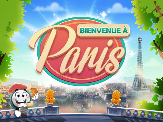 Bienvenue und willkommen in Paris