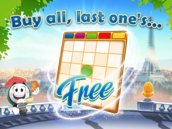 Last Card for Free in GamePoint Bingo!
