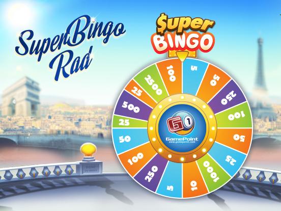 Drehe das SuperBingo-Rad!