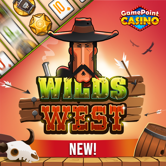 GamePoint Casino heißt WILDS WEST willkommen!