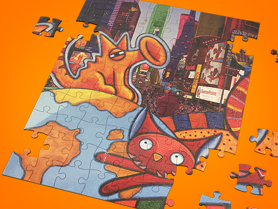 ¡Gana un puzzle de GamePoint!