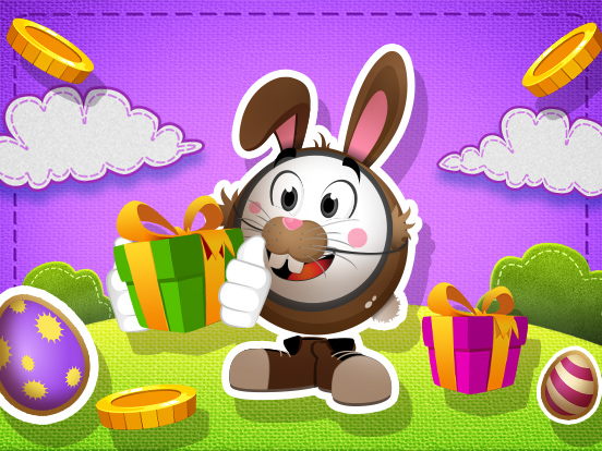 Collect Easter Eggs and WIN