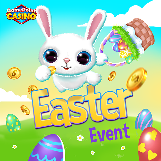 Collect eggs in GamePoint Casino to Win a Surprise!