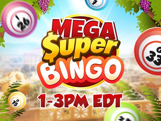 Mega SuperBingos are coming!