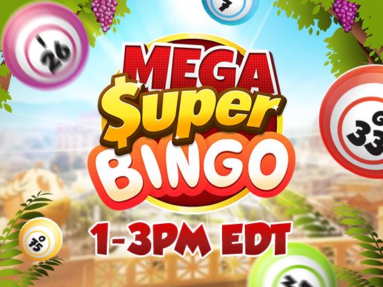 Mega SuperBingos are coming!