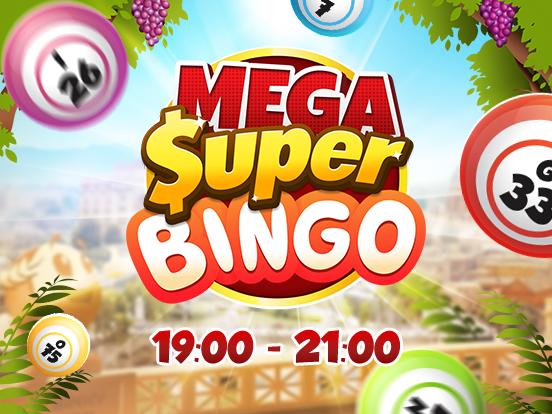 I Mega SuperBingos stanno arrivando!