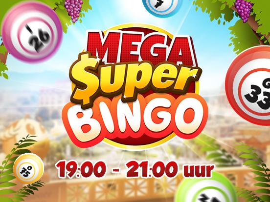 De Mega SuperBingos komen er aan!