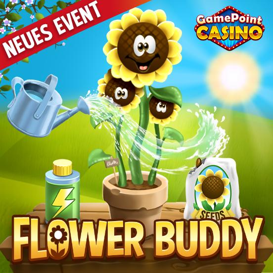 Triff deinen Flower Buddy in GamePoint Casino!
