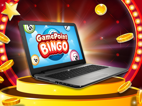 Win a LAPTOP by playing GamePoint Bingo!