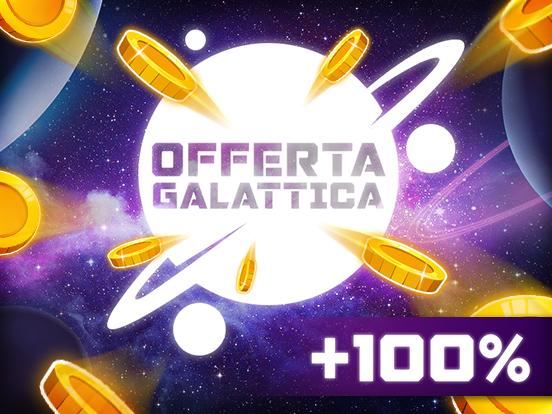 Ricevi il 100% in più di Cartelle Bingo & Monete!