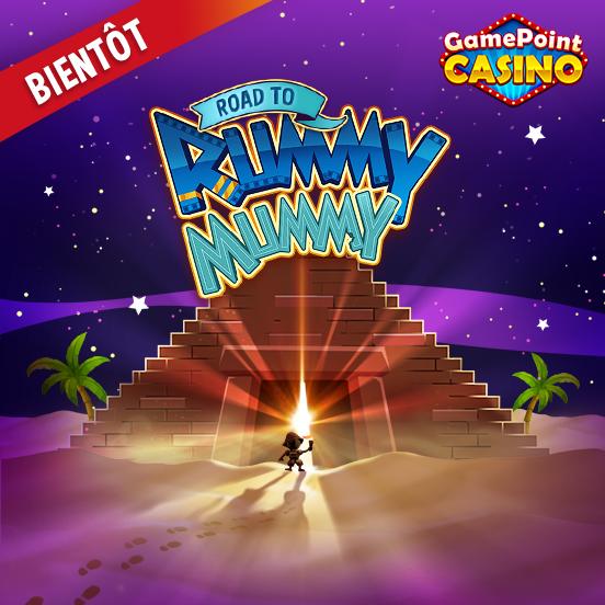 Partez à l'aventure sur GamePoint Casino !
