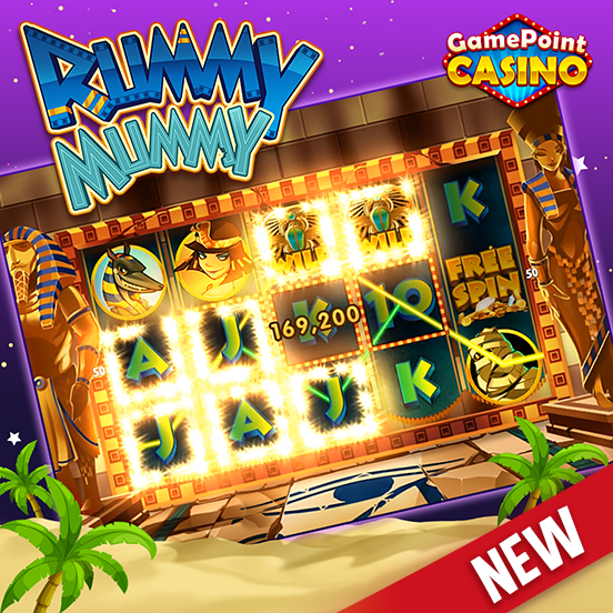 Rummy Mummy now available in GamePoint Casino!