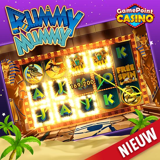 Rummy Mummy nu beschikbaar in GamePoint Casino!