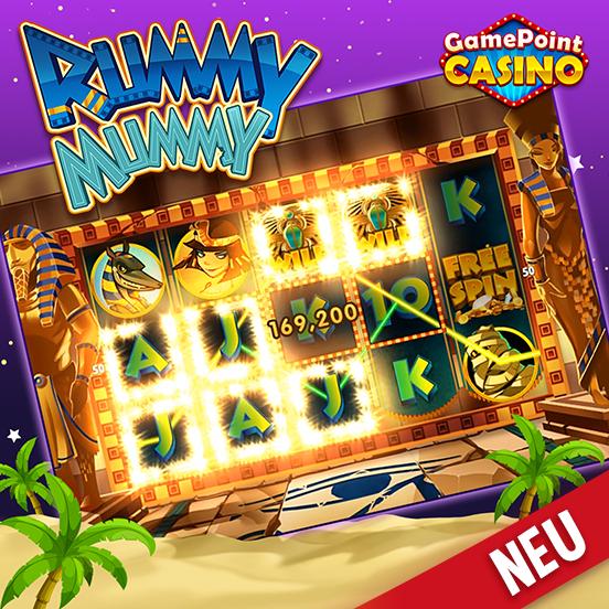 Rummy Mummy ab sofort verfügbar in GamePoint Casino!