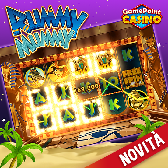 Rummy Mummy è disponibile su GamePoint Casino!