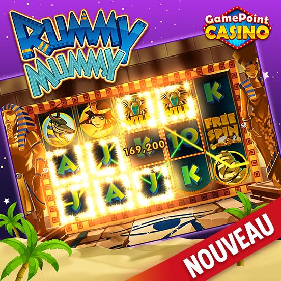 Rummy Mummy est disponible sur GamePoint Casino !