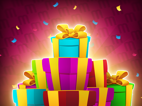 C'est l'heure de la MEGA Distribution de Cadeaux !