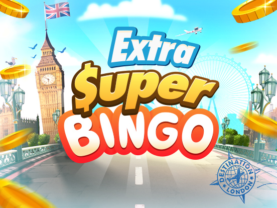 Win tijdens onze Extra SuperBingo's!